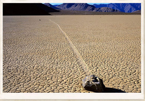 sailing stones Death Valley mystery odd oddities natural phenomenon culture entertainment Science unexplained phenomena Landscape strange weird unexplained mysteries supernatural paranormal mysteries unsolved mysteries