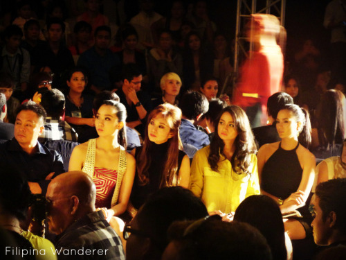 gorgeous audience from PFW last night :P