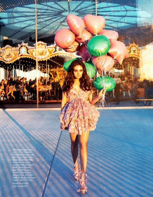 Mila Kunis for Harper's Bazaar, February 2012