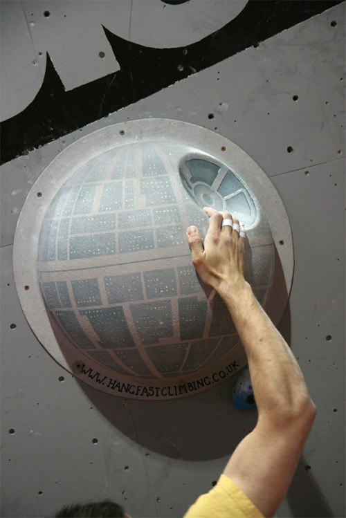 A long time ago in a climbing gym far far away…