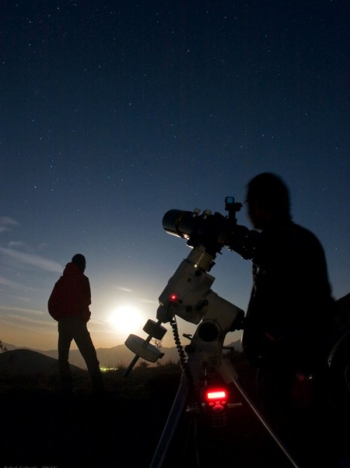 n-a-s-a:  Star Party on Planet Earth Image Credit & Copyright: Babak Tafreshi (TWAN)