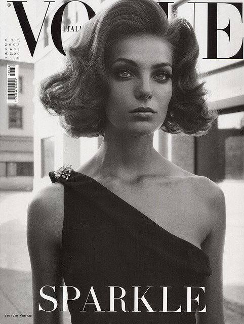sepulcre:  Vogue Italia Cover October 2003 Daria Werbowy
