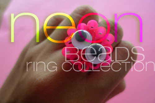 fuckyeahrings:        plastic neon collection by http://christianneiriberri.tumblr.com