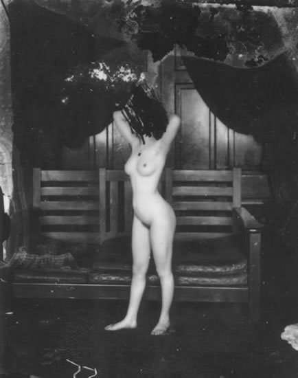 Storyville Portrait by E.J. Bellocq, 1912