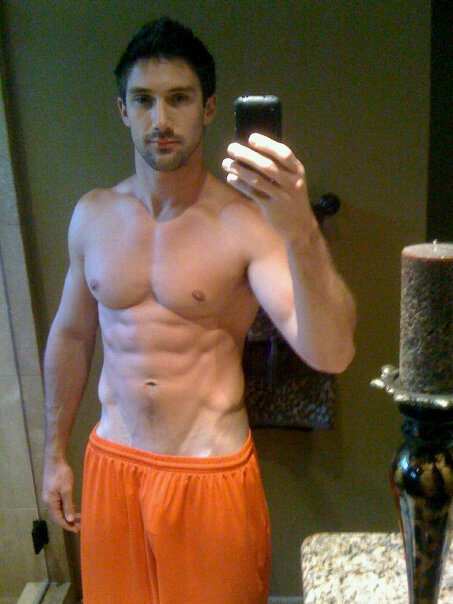freeballinboys:  Orange you glad he decided to wear those shorts?