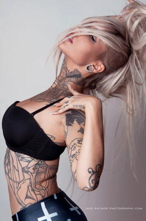womenwithink:  Sara Fabel by Jake Raynor Photography Sara's page here: https://www.facebook.com/SaraFabel?ref=ts Our FB page here: Women with Ink