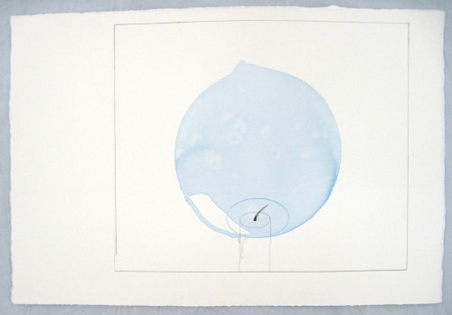 Rob ChurmFlame in Zero Gravity (1/2). 2011framed gouache, ink, water, Fairy Liquid and pencil on paper59.4 x 84.1 cm VIA