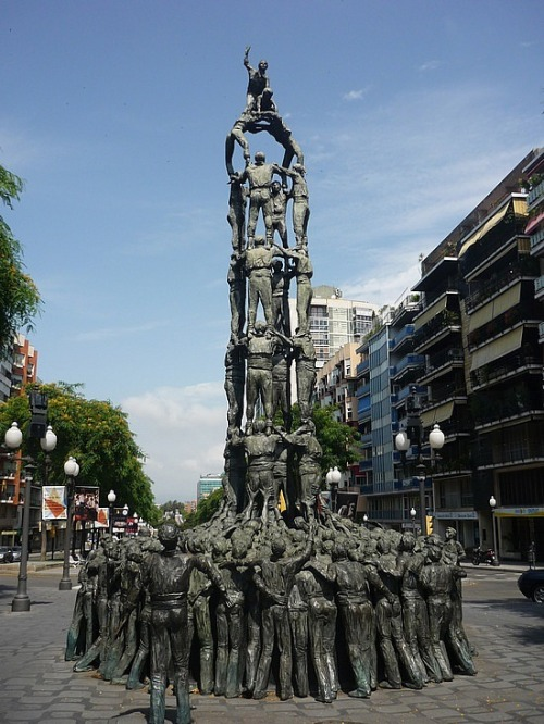 Iron Human Tower