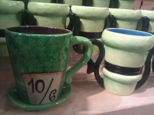 dangit-all:  Cutest mugs in the world! I got the mad hatter mug heehee