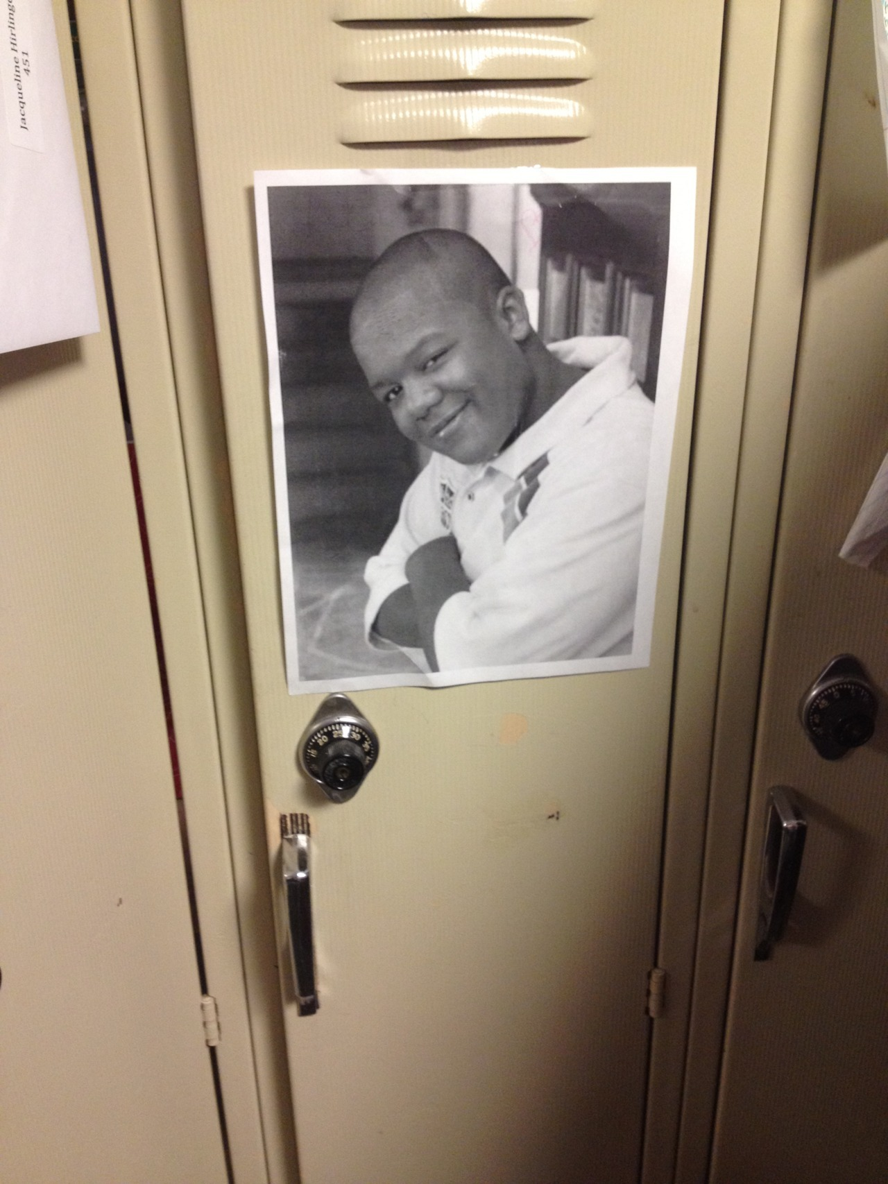 this has been on my locker all semester