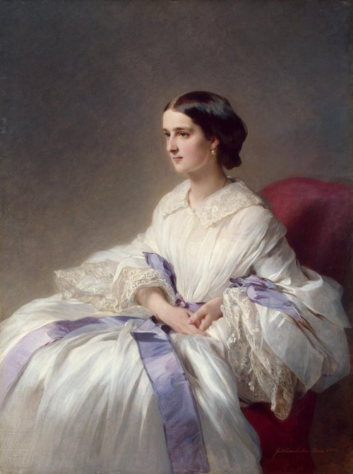 oldrags: 1858 Franz Xaver Winterhalter (Russian, 1805-73) ~ Countess Olga Shuvalova