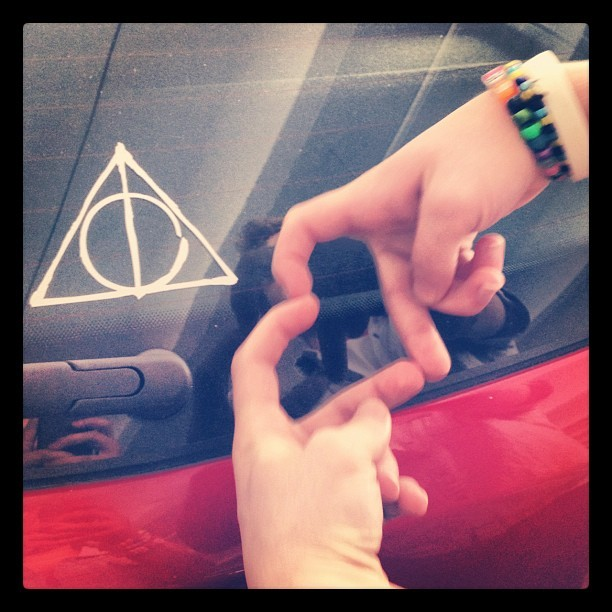 @spliffedapart #love #harrypotter #potter #magic #edm (Taken with instagram)