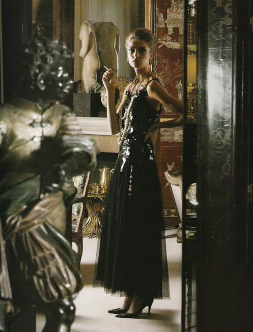 Karl Lagerfeld / Vogue Paris June 2004.