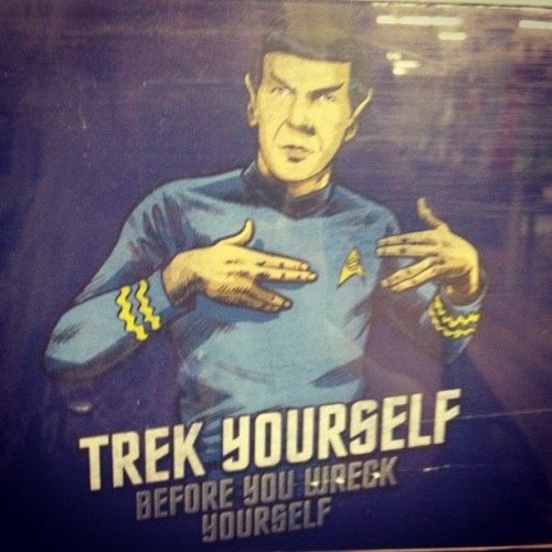 mstogsdill:  #startrek #geek #tshirt #clothes (Taken with instagram)  Weirdly enough, I have this t-shirt.