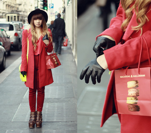 lookbookdotnu:  A day in Milan (by Anastasia Siantar)