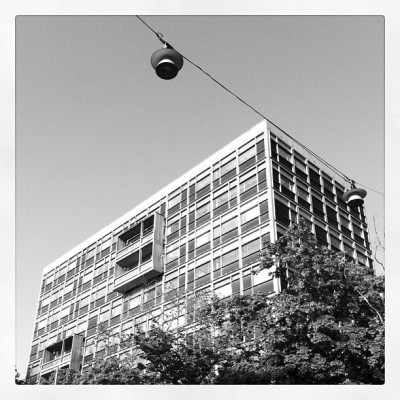 #stockholm #architecture #building #kungsholmen #grid (Taken with instagram)