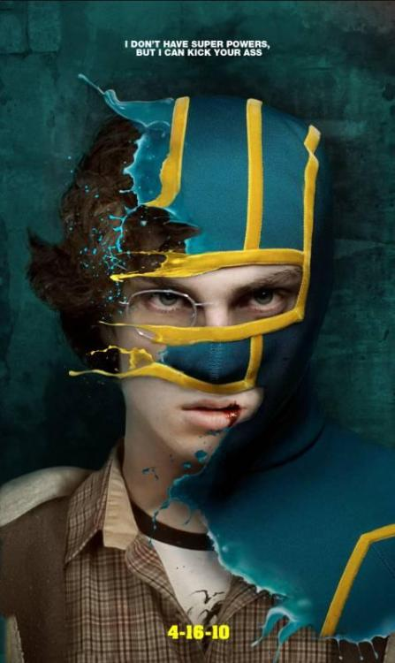"Source: » Ungenutzte Filmposter von ""Kick-Ass"" 