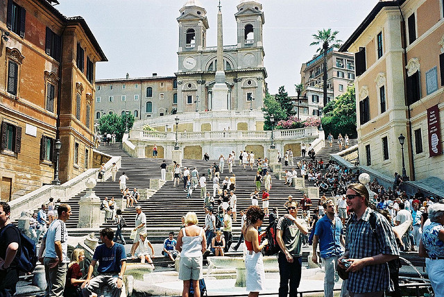 | ♕ |  Spanish Steps - Rome, Italy  | by © Simon Cast