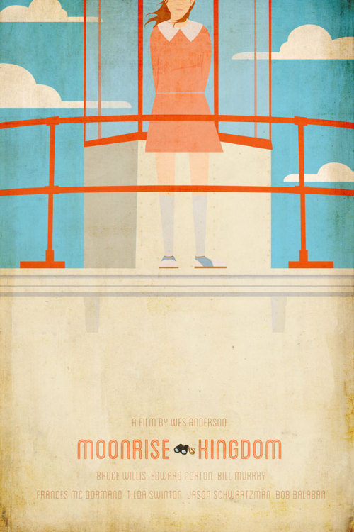 geek-art:  Ibraheem Youssef - MoonRise Kingdom Posters I just can't wait to watch this movie. The trailer itself was gorgeous… Well, a bit weird, too, but it's Wes Anderson ! Anyway here comes great 2 posters from Canadian graphic designer Ibraheem Youssef. Kudos to him ! J'ai vraiment hâte de voir ce film. Rien que la bande-annonce était splendide… Bon, un peu bizarre aussi, mais après tout c'est Wes Anderson ! Bref, voilà 2 superbes posters designés par le graphiste canadien Ibraheem Youssef ! Submitted by the artist here : postmaster(at)geek-art(dot)net