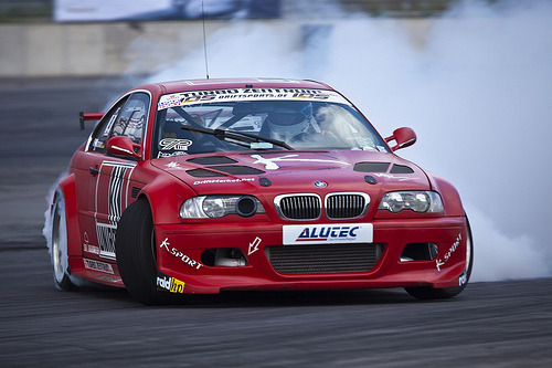 Smoking hot Starring: BMW M3 (by Sascha Bentz)