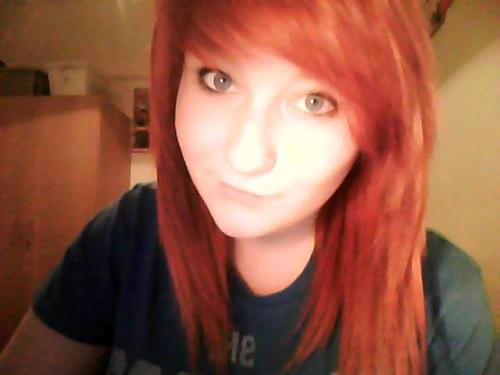 have my face - looking pretty ginger right about now.