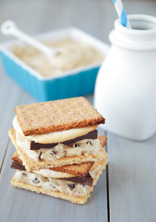 sweet-designs:  Cookie dough s'mores