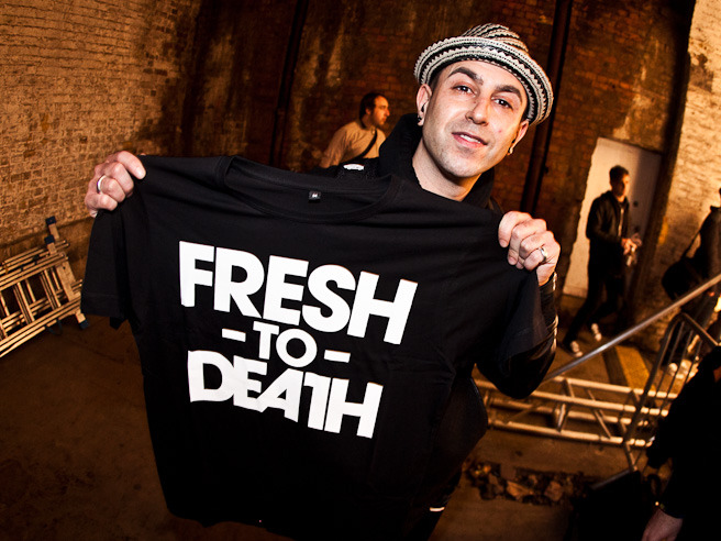 Big up the guys over at Fresh to Death Clothing! @FTD_Clothing Keepin Stapes fresh right now!