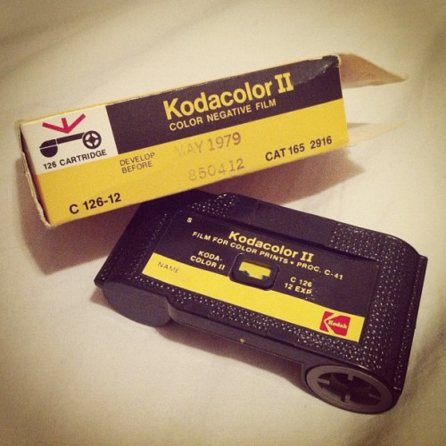 #126 film — expired #1979 (Taken with instagram)