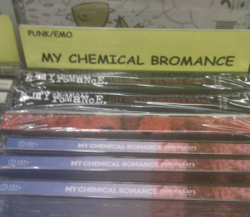 blackpenisfightingsociety:  my chemical bromance… sounds about right