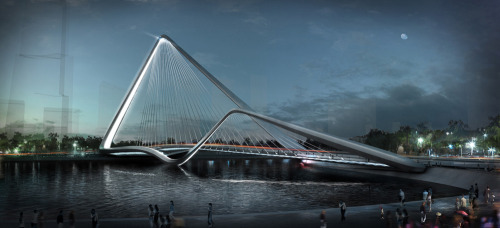 Infinity Loop Bridge by 10 DESIGN + Buro Happold