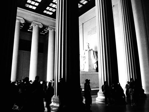 Lincoln Memorial Olympus Pen E-pl1