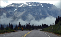 a-w0lf:  Alaska - Klondike Highway - Mountain by blmiers2 on Flickr.