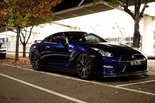 automotivated:  Spotted: Nissan GTR (by slowNserious)