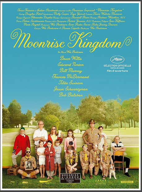 Seeing the new Wes Anderson movie Moonrise Kingdom