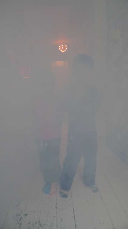 smoke machine in my living room