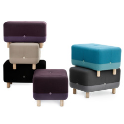Sumo pouf by Danish Simon Legald for Normann Copenhagen.