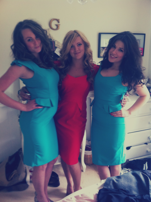 Friends, Dresses.