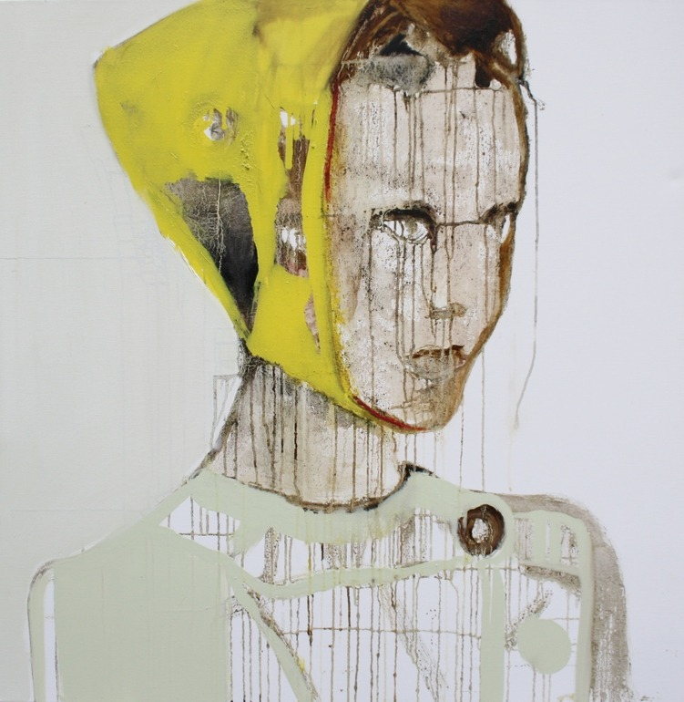 Patricia Derks. Yellow Cap Girl.