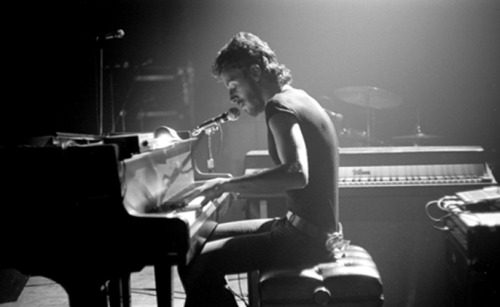 """Bruce Springsteen, Piano Series #3, 1974"" Another one from the Cambridge, MA May 1974 show. With the E Street Band."