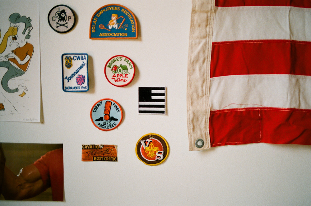 Wall Tableau.  Our Original $5 Woven Patch, HERE. — Cavalier on the web: http://cavalieressentials.com Store: Cavalier Shop / Twitter: @Cavalier / Tumblr: Journal