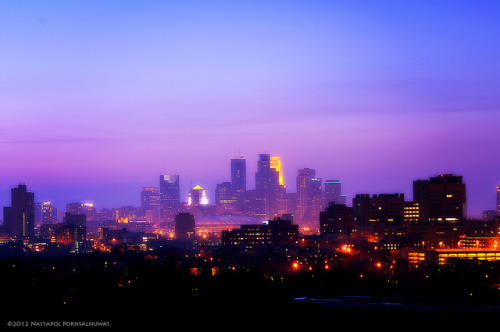 Purple City by jpnuwat on Flickr.