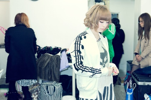 adidasoriginals:  Japan celebrates White Space project with It girl Kyary. This girl's got plenty of talent; she's a blogger, model, entrepreneur and now a pop star! The singer dropped her debut album yesterday and as a part of WSP, the Originals store in Shinjuku has created a gallery space documenting the creative lady's life - it's worth checking out if you're nearby! But if you can't make it to the store, then keep your eyes peeled as we'll no doubt have a few more pics for you. Don't forget to see what others are doing for WSP: adidasoriginals.tumblr.com/tagged/wsp