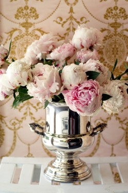 thegildedmirror:  Beautiful peonies from my garden!
