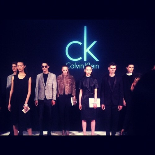Where I went tonight! Kate bosworth and Exo were there! You heard me! Bananamilk post coming soon. #CK #Calvinklein #korea #exo (Taken with Instagram at 갤러리아백화점 콩코스 (The Galleria Concos))