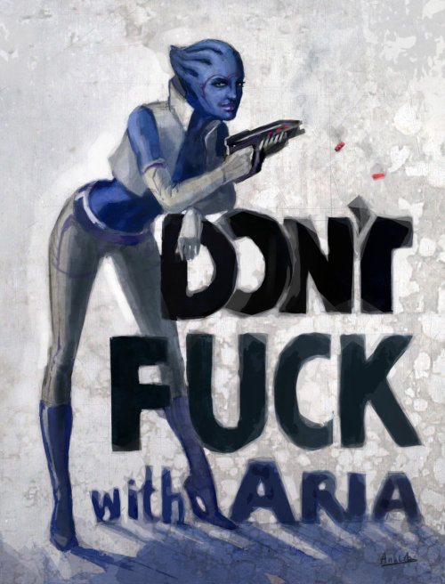 Aria T'Loak by ~me9999