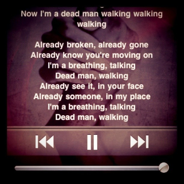 music night. #deadmanwalking #thescript #music (Taken with instagram)