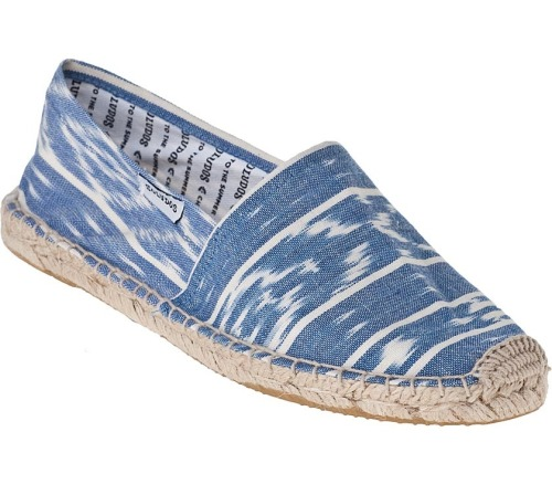Soludos ikat espadrille, $42, jildor.com Shop more weekend-ready essentials under $100, over on Glamour.com.