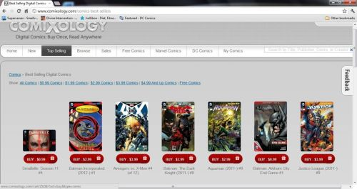 SMALLVILLE SEASON 11 #4 TOP SELLING DIGITAL COMIC IN 6 days!