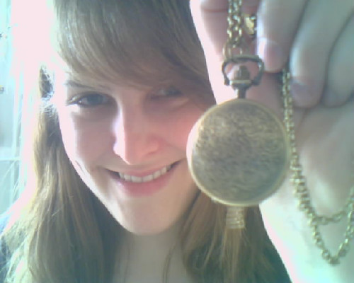 Yer a Time Lord, glorwen. glorwen:  Bought this today because it reminded me of the Doctor's (even though this one is gold). I believe this is what we call #swag.