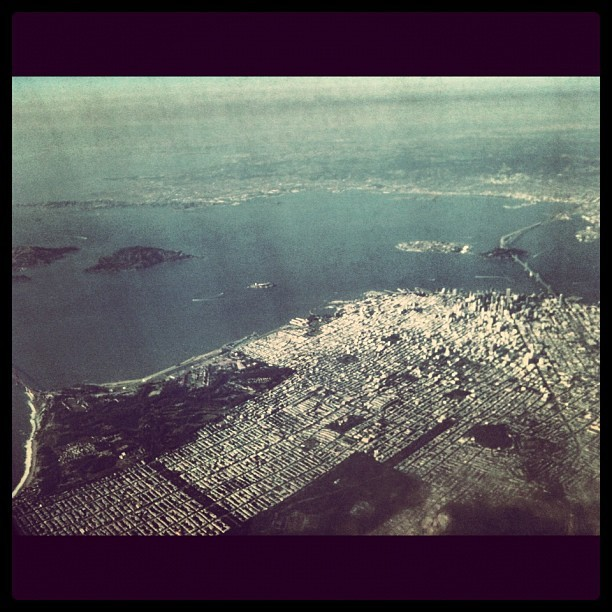 Back in the Bay! #sanfrancisco (Taken with Instagram at In an airplane!)